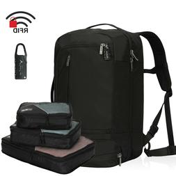 42L Carry on Backpack Cabin Approved Suitcase RFID Blocking