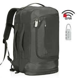 42L Flight Approved Carry on Backpack Travel Security RFID B