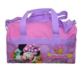 Disney Minnie Mouse Polyester Duffle Bag Kids, Pink, One Siz