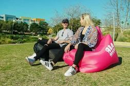 Air Chair Inflatable Lounger With Pillow And Cinch Backpack