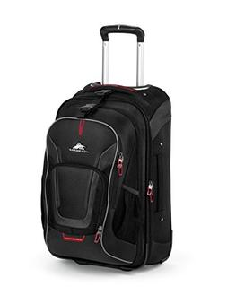High Sierra AT7 Outdoor Rolling Backpack, Black, 22-Inch