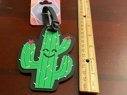 Cactus BAG TAG~Suitcase ID Luggage Backpack Carry-on Accesso
