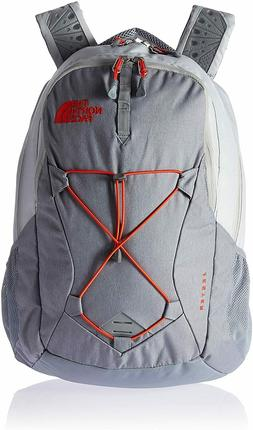 "THE NORTH FACE Jester Women's Backpack 15""  Gray Orange"