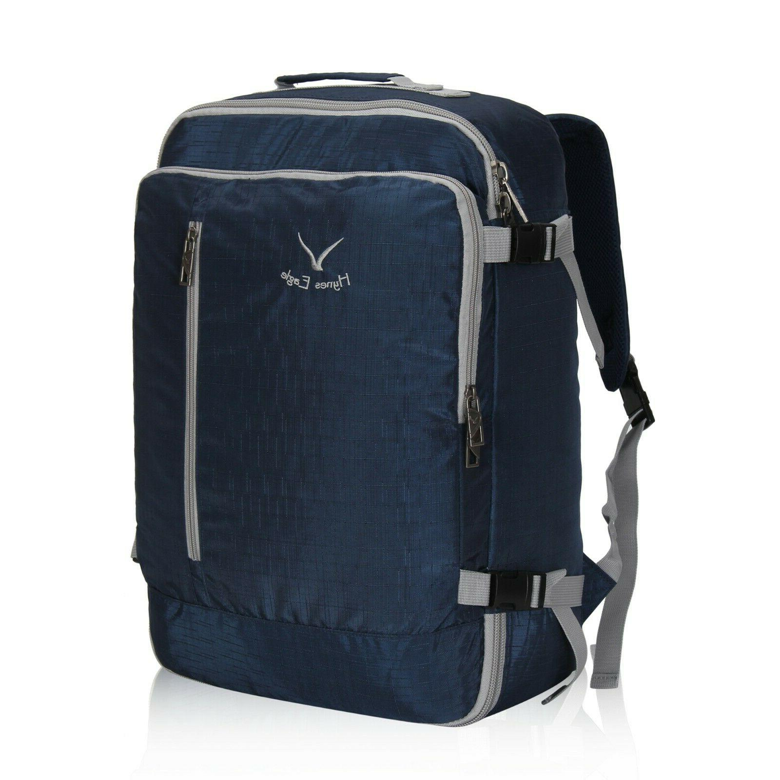 38l carry on backpack flight approved travel