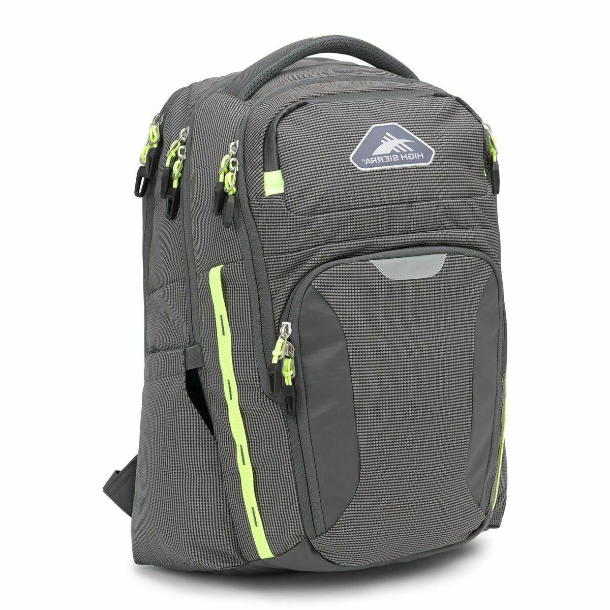 autry laptop backpack gray color business
