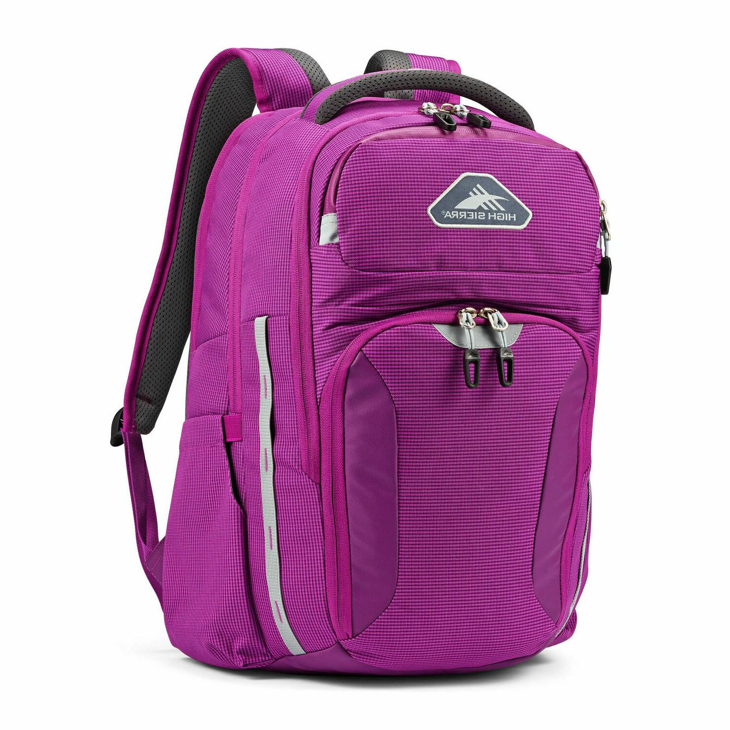 autry laptop backpack pink color business