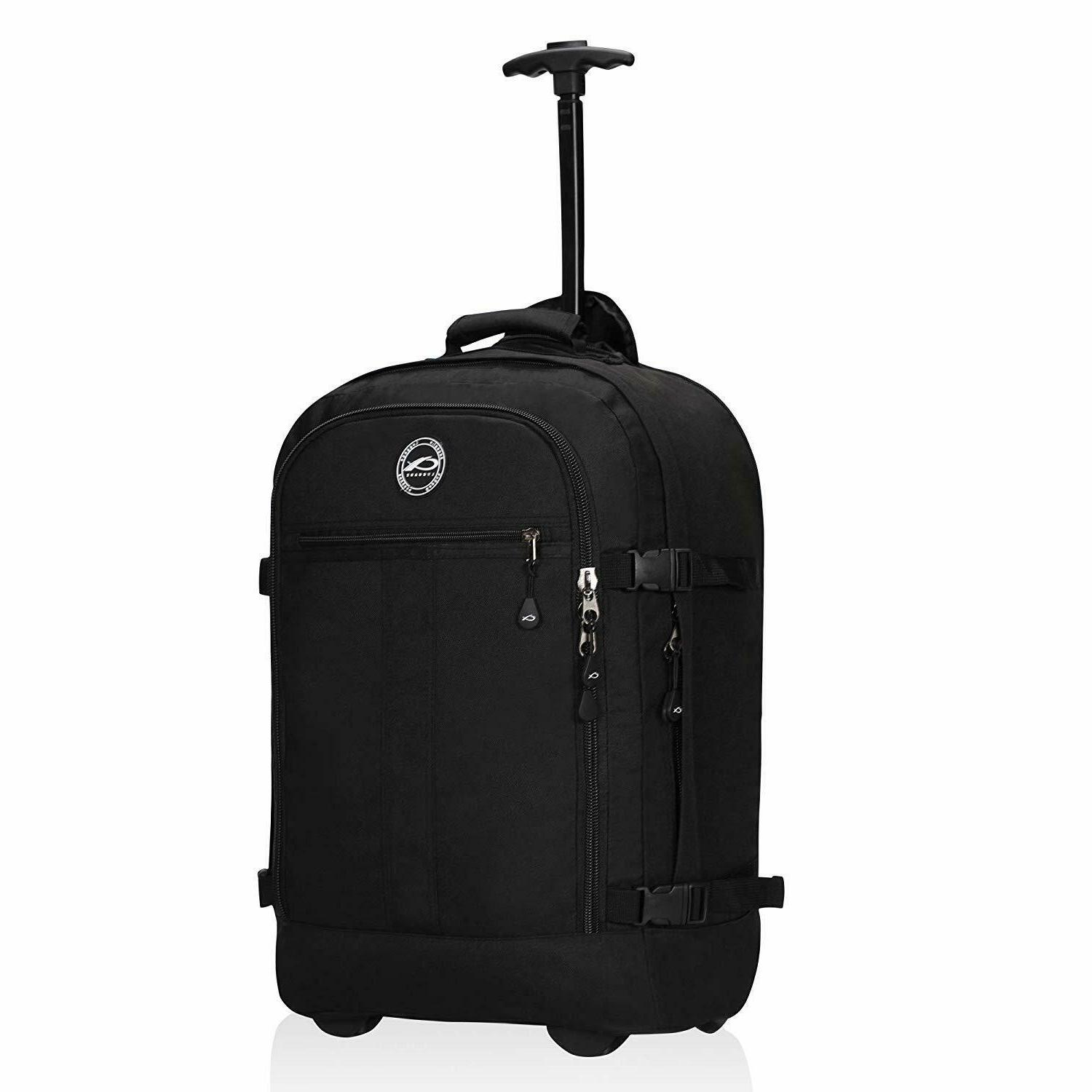 carry on rolling backpack 37l flight approved
