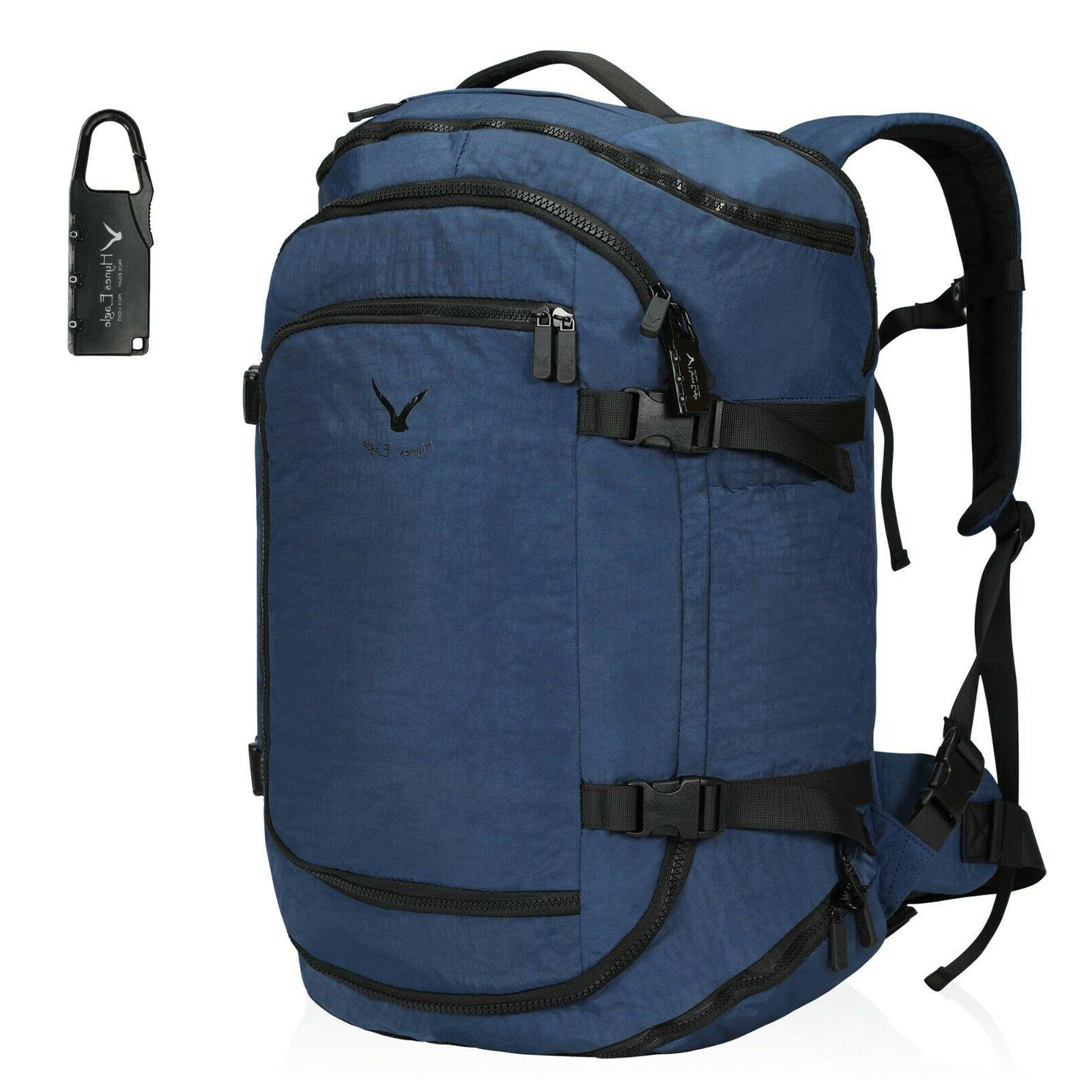 travel flight approved carry on backpack weekender