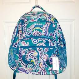 Vera Bradley Lighten Up Essential Backpack Waikiki Paisley S