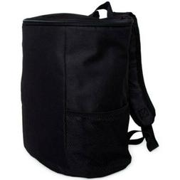 NEW Cooler Backpack With 12 Can Capacity BLACK With Adjustab