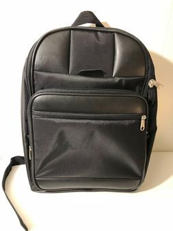 New Delsey Pairs travel carry on Luggage Black backpack