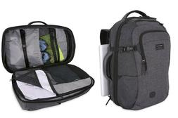 """New Swiss Gear Getaway 22"""" Backpack / Suitcase Expandable Ca"""