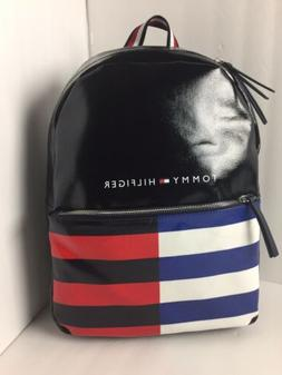 NWT Tommy Hilfiger Striped Backpack Bag Carry