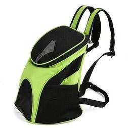 Pet Carrier Premium Travel Outdoor Mesh Backpack Carry Bag A