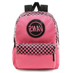 Vans Realm Taper Off Azalea Pink Backpack $42