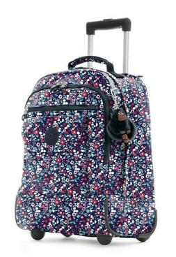 KIPLING SANAA GLISTENING POPPY BLUE LARGE CONVERTIBLE BACKPA