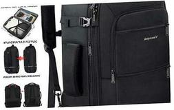 Travel Backpack, 40L Expandable Carry On Backpack for Men, F