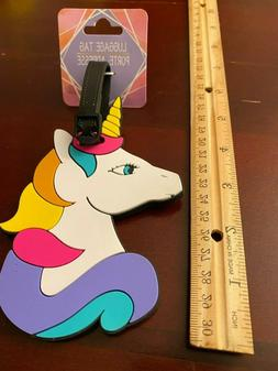 Unicorn BAG TAG~Suitcase ID Luggage Backpack Carry-on Access