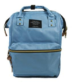 Womens Backpack Tote Bag Travel Carryon Carry On Large Teal